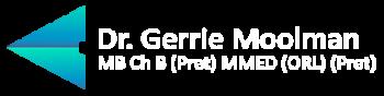 Dr Gerrie Moolman logo